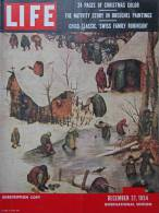 Magazine LIFE - DECEMBER 27 , 1954 - INTER. ED. -  MENDES FRANCE -  Voitures MORRIS MINOR - VOLKSWAGEN     (3025) - Nieuws / Lopende Zaken