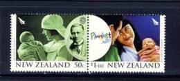 Nouvelle Zélande : Centenaire De La Plunket Sociéty 2007  Puéricultrice, Bébé - Health