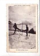 84 Sports D'hiver Au Mont Ventoux Skieurs - Francia