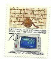 1984 - Germania 1053 Archivistica, - [7] République Fédérale