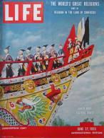 Magazine LIFE - JUNE 27 , 1955 - INTER. ED. - Publicité FIRESTONE ( Rappel Des Victoires D' INDIANAPOLIS )     (3029) - Nouvelles/ Affaires Courantes