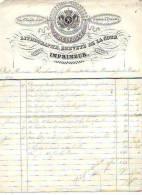 Bruxelles - 1844 - J. Delfosse - Imprimeur-relieur-régleur - Printing & Stationeries