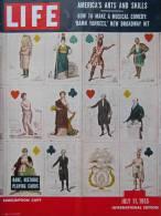 Magazine LIFE - JULY 11 , 1955 - INTER. ED. -  Publicités Voitures  MORRIS MINOR - AUSTIN OF ENGLAND - FORD     (3030) - Nouvelles/ Affaires Courantes