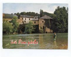 43188 - La Pêche Au Saumon Dans Le Gave D´Oloron (64) - Pêche
