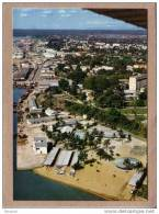 CAMEROUN - CPM - DOUALA - 3912 - VUE AERIENNE - LA PLAGE - éditeur  IRIS - Cameroon