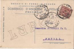 L´ Aquila - Domenico D' Anchino & Figlio - Pescara - Negozio Di Ferro In Genere - Pescara
