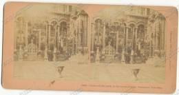 1898 Center Of The Earth, In The Greek Chapel, Jerusalem, Palestine - B. W. Kilburn - Vintage Stereoscopic Photo - Stereoscopi