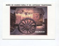 43198   -  Salmiech (12)  Musée Du Charroi Rural    Musée De France - Publicité