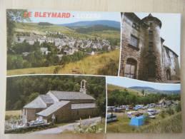 LOZERE - LE BLEYMARD - MULTIVUES  / DIVERS ASPECTS DU VILLAGE - ED.BOS - NON CIRCULEE - Le Bleymard