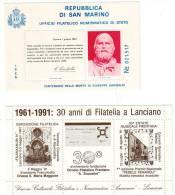Foglietto Erinnofilo Lotto 2 - Erinnofilia