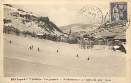 74 PRAZ SUR ARLY - Vue Générale - Rochebrune Et La Chaîne Du Mont Blanc - Sonstige Gemeinden