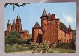 6253 Collonges La Rouge L'eglise Prise Du Castel Vassinhac - Other Municipalities