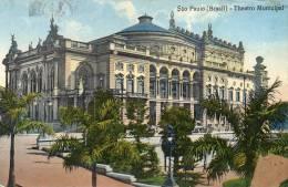 Sao Paulo Old Postcard - São Paulo