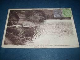 Barrage De Bosmeleac, Près D'Uzel - L'étang Et La Digue - Bateaux - Ed. A.W. 42654 - Circulée - L113A - Bosméléac