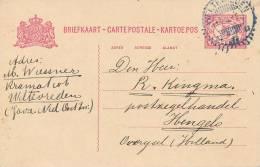 WELTEVREDEN - 1915 , Ganzsache Nach Hengelo - Niederländisch-Indien