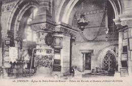 21652 Josselin Basilique Eglise Notre Dame Roncier, Piliers Ex Voto Oratoire Olivier Clisson -26 Artaud - Josselin