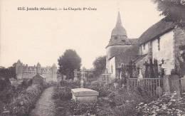 21653 Josselin Chapelle Sainte Croix -6515 éd Lamiré?  Rennes -cimetiere - Josselin