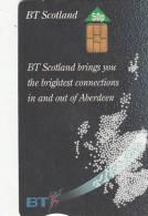SCOTLAND - Aberdeen, BT Scotland Telecard, Tirage 10300, Used - Télécartes