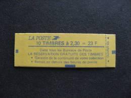 TB Carnet 2614 C3 ,  Neuf XX. - Booklets