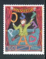 """SVIZZERA / HELVETIA 2006** - Il Clown """"Dimitri"""" - 1 Val. MNH Come Da Scansione - Circus"""
