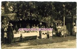 74 - ANNECY : KERMESSE JUILLET 1922. CARTE PHOTO. - Annecy