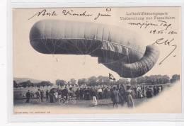 Bern (BE)  Beundenfeld, Luftschiffercompagnie, Militaire Suisse, Fessel-Ballon, Lichtdruck, Ca. 1900  ***24994 - BE Berne
