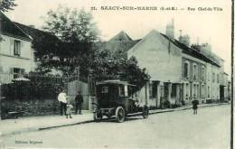 77 SAACY-sur-MARNE Rue Chef De Ville - Autres Communes