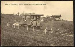 Treize-Arbres (F) Chemin De Fer Du Salève, Lichtdruck, Ca. 1905      ***70537 - Saint-Julien-en-Genevois