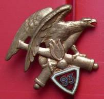 INSIGNE  93° RAM  REGIMENT ARTILLERIE  De MONTAGNE - Armée De Terre