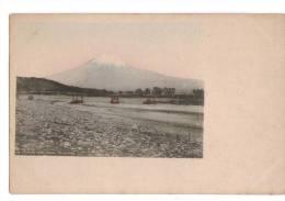 PAYSAGE, 1900/1920 -JAPON, Carte Postale Colorisée : « N° 530, Fujikawa River, Suruga, To Fujiyama » - Zonder Classificatie