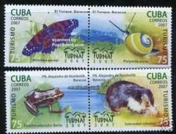 CUBA/KUBA 2007 INSECT AND ANIMALS  MNH - Cuba