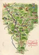 Bogtland Nr1 - Landkaarten
