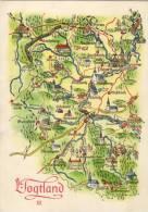 Bogtland Nr2 - Landkaarten