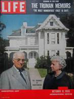 Magazine LIFE - OCTOBER 31 , 1955 - INTER. ED. -  THE TRUMAN MEMOIRS  - PUB.  RENAULT France  Etc  (3034) - Nouvelles/ Affaires Courantes