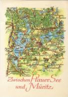 Zwischen Plauer See - Landkaarten