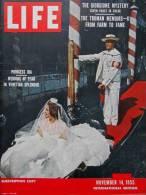 Magazine LIFE - NOVEMBER 14 , 1955 - INTER. ED. - THE TRUMAN MEMOIRS -  Peintre Giorgione  (3035) - Nouvelles/ Affaires Courantes
