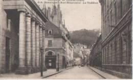 .BESANCON ( Rue Megevand  Le Theatre ) - Besancon