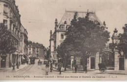 BESANCON (.avenue Carnot Hotel Des Bains   ) - Besancon