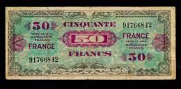 "50 F ""Verso France"" Série 1944  TB/TTB - Treasury"