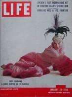 Magazine LIFE - JANUARY 23 , 1956 - INTER. ED.-  WINSTON CHURCHILL - CAROL CHANNING -  Publicités   (3038) - Nieuws / Lopende Zaken