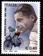 PIA - ITALIA - 2002 : Centenario Della Nascita Di Alfredo Binda  - (SAS  2630) - 6. 1946-.. Republik