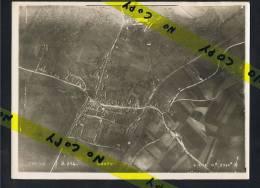 Conty Photo Aerienne 1914 - 1918 Format  24 Cm / 18 Cm 4 Mai  1918  16 H 3500 M - Conty