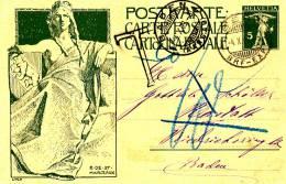 BERN  - 4.10.1909 , Karte Nach Rastatt - Nachporto In BADEN - Gestrichen Da Marke Rückseitig - Entiers Postaux