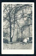 Deutschland Schwarz Weiße Ansichtskarte Siegen Kirche Gelaufen 25.12.1943 - Siegen