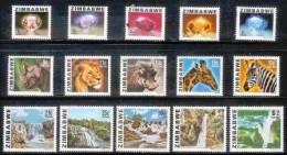 ZIMBABWE 1980 MNH Stamps Definitives 227-241 #5070 - Zimbabwe (1980-...)