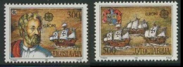 Jugoslavija Yugoslavia 1992 Mi 2534 /5 YT 2397 /8 ** 500th Ann. Discovery America By Columbus / Entdeckung Amerika - Christoffel Columbus