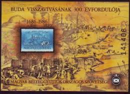 Hongarije Ungarn Magyar - Erinnofilie - Buda - Blocs-feuillets
