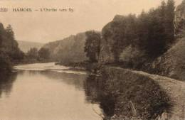 BELGIQUE - LIEGE - HAMOIR - L'Ourthe Vers SY. - Hamoir