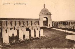 BELGIQUE - FLANDRE OCCIDENTALE - ZONNEBEKE -  Tyne Cot Cemetery. - Zonnebeke