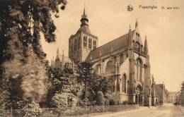 BELGIQUE - FLANDRE OCCIDENTALE - POPERINGE - St. Jans Kerk.